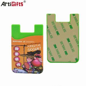 دارنده کارت تلفن سیلیکون آرم چاپ تبلیغاتی سفارشی