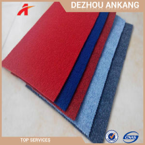 100٪ مواد پلی استر 300g / Sqm Ribbed Surface نمایشگاه سطح