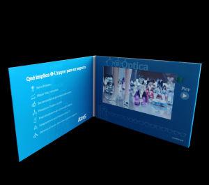 بروشور ویدیوی نمایشگر صفحه نمایش LCD 7inch Advertising