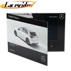بروشور Facevideo Manufacturer 10.1 Inch LCD Monitor Video تولید بروشور Car Video Video Booklet Video دعوت ویدیویی